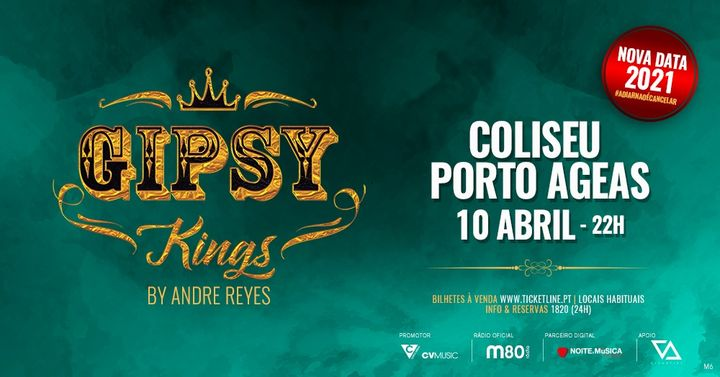 Gipsy Kings by Andre Reyes no Porto