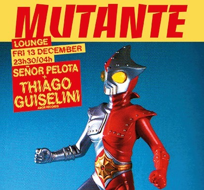 Mutante #98 Señor Pelota + Thiago Guiselini