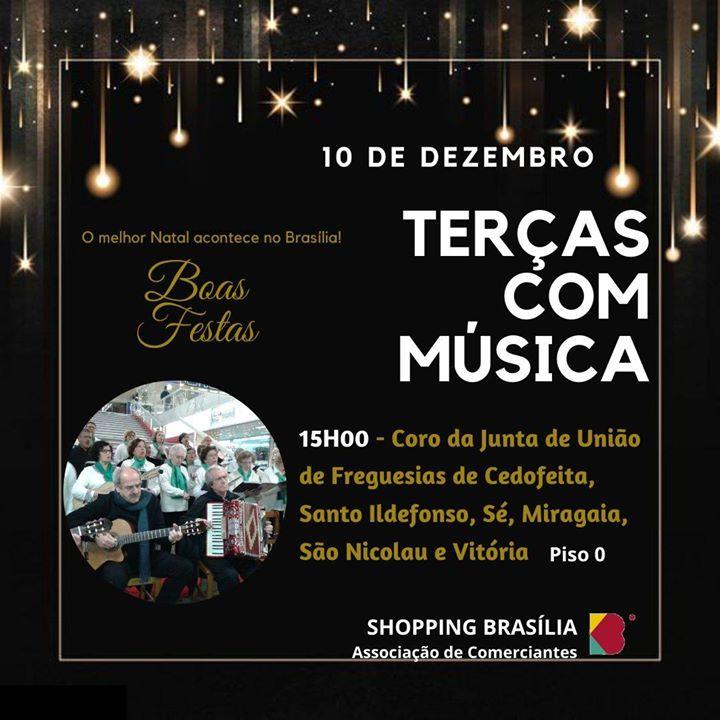 Terças com Música. O melhor Natal acontece no Brasília !