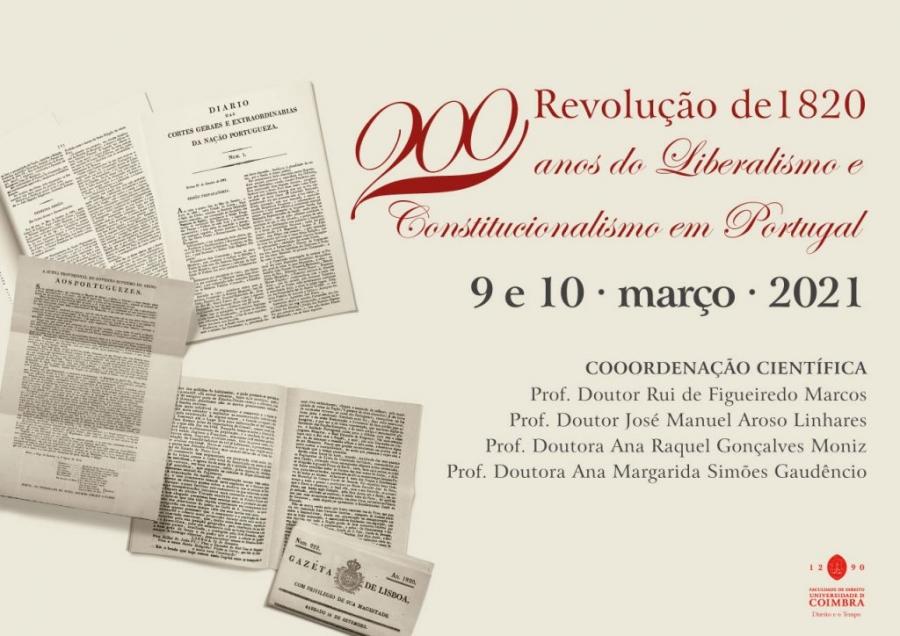 Revolução de 1820 · 200 Anos do Liberalismo e Constitucionalismo em Portugal