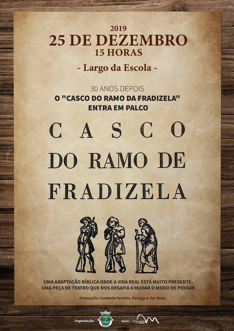 Teatro - O Casco do Ramo de Fradizela