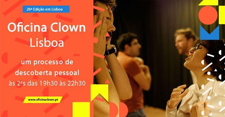 Oficina Clown em Lisboa