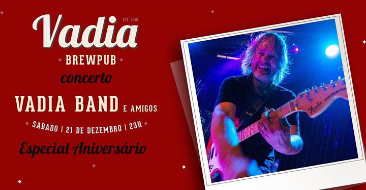 Vadia Band e Amigos / / Concerto Especial Aniversário