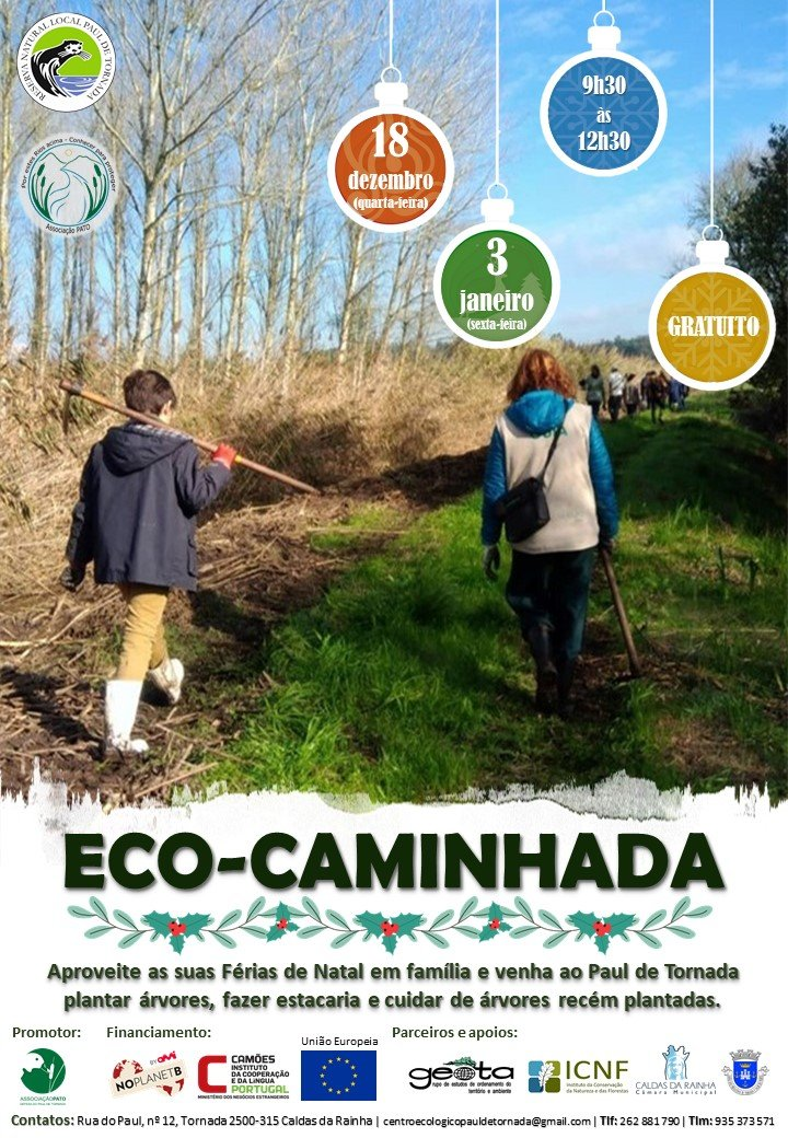 Eco-caminhada: Ação de voluntariado ambiental no Paul de Tornada