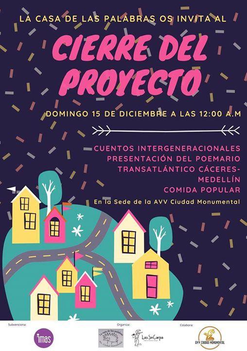 Cierre Proyecto CASA De LAS Palabras 2019c