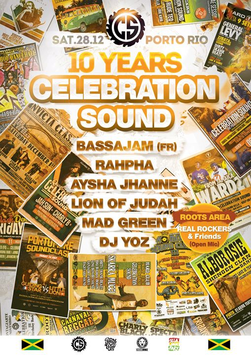 Celebration Sound 10 Years Birthday Bashment