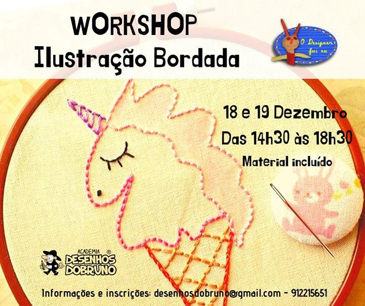 Workshop de Ilustração Bordada