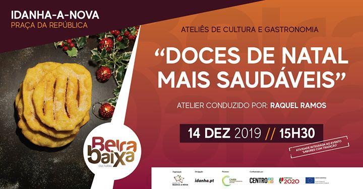 Atelier de Cultura e Gastronomia - Doces de Natal Mais Saudáveis