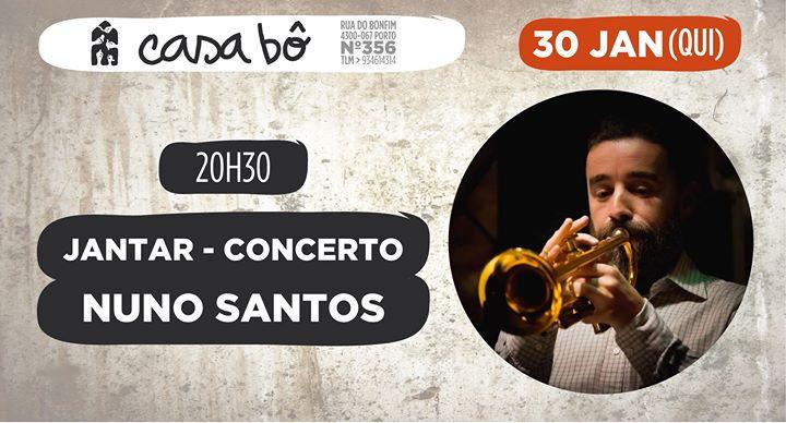 Jantar Concerto: Nuno Santos