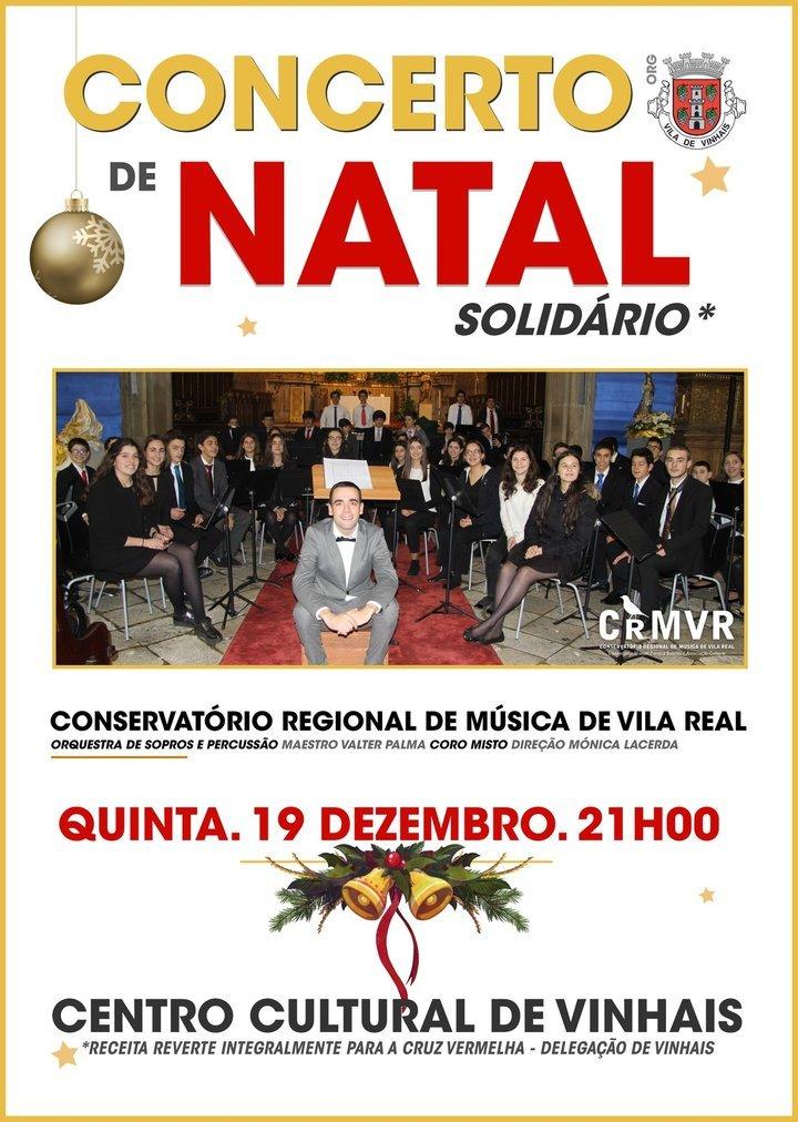 Concerto de Natal Solidário