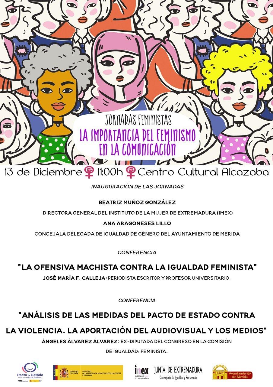 """Jornadas """"La importancia del Feminismo en la Comunicación"""""""