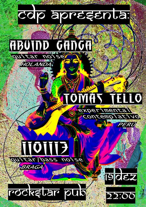 CDP eventos : Arvind Ganga : Tomás Tello : iioiii3