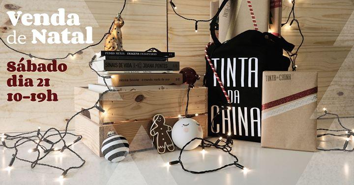 A mui incrível e sempre desejada Venda de Natal Tinta-da-china