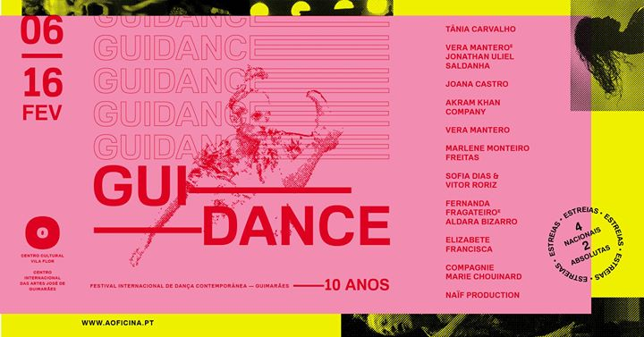 GUIdance 2020 - Festival Internacional de Dança Contemporânea