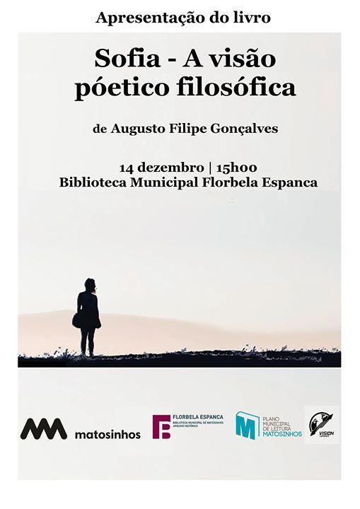 Apresentação do livro 'Sofia - A visão poético filosófica'