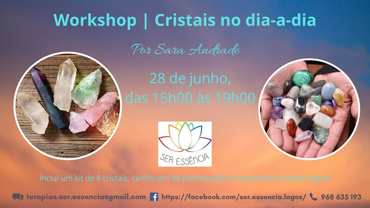 Workshop | Cristais no dia-a-dia