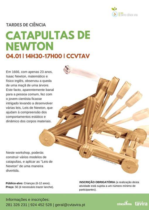 Catapultas de Newton