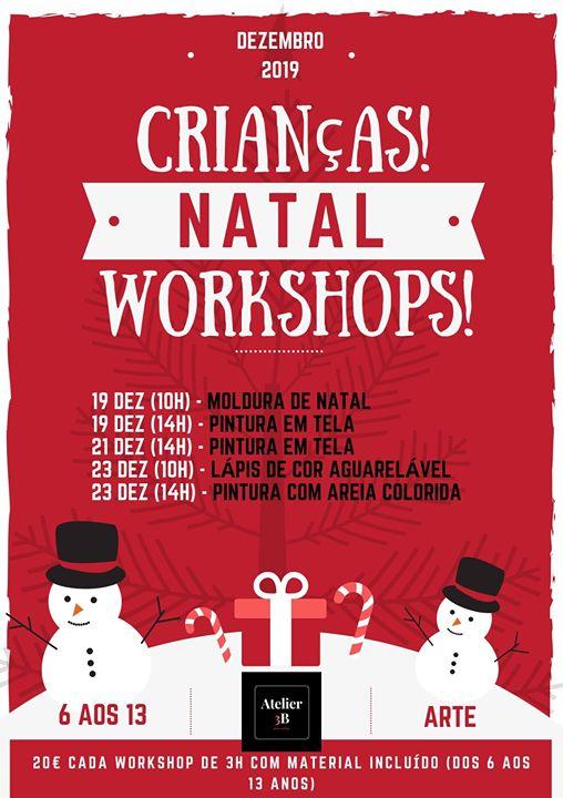 Workshops de Natal para Crianças