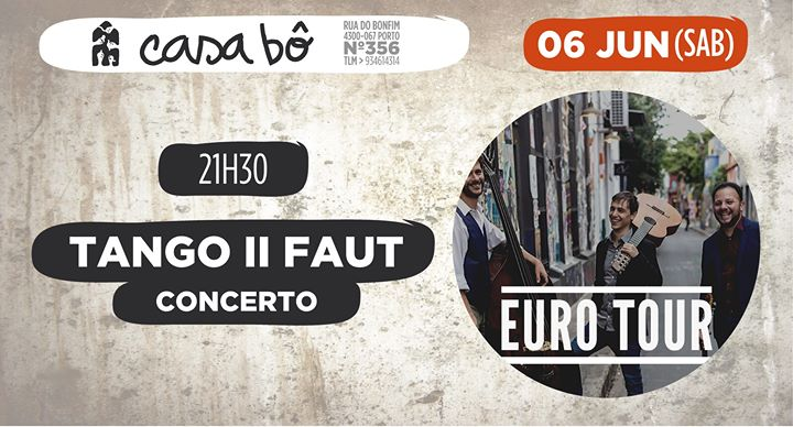 Concerto : Tango II Faut