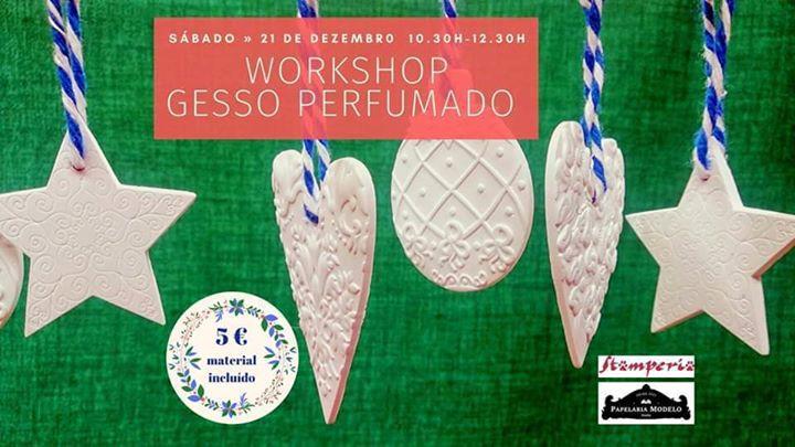 Workshop de Gesso Perfumado