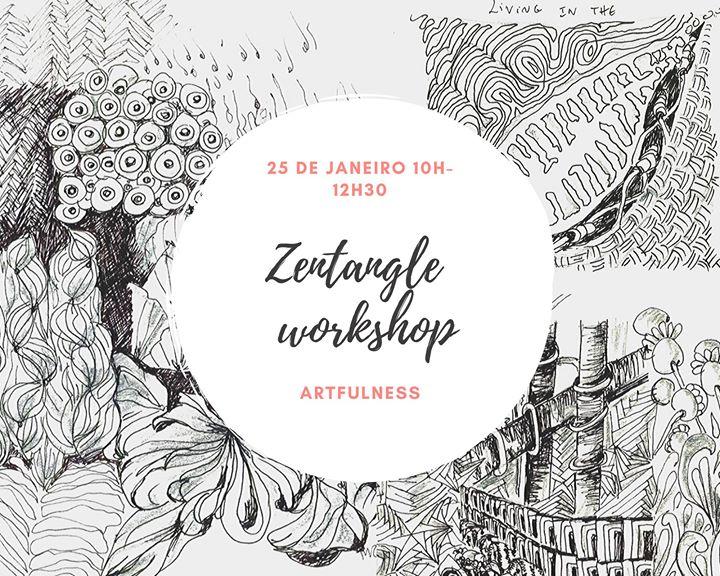 Workshop de Zentangle