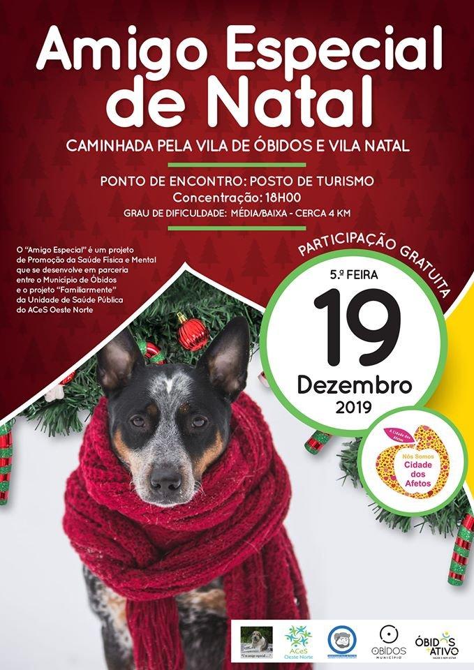 Caminhada Amigo Especial de Natal | Óbidos