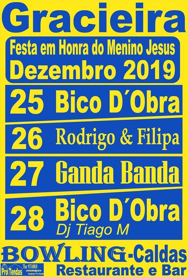 Festa em Honra do Menino Jesus   Gracieira