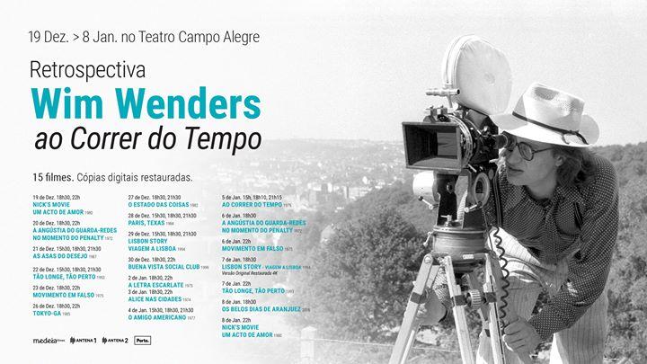 Retrospectiva: Wim Wenders ao Correr do Tempo   T. Campo Alegre