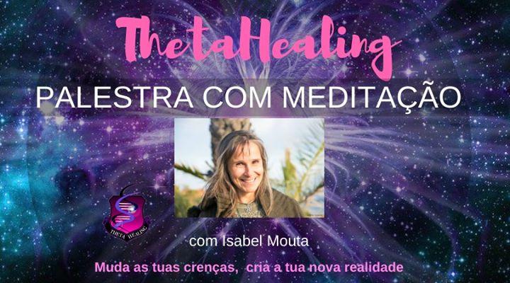 Palestra com Meditação ThetaHealing