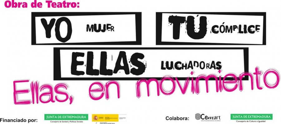 """Teatro Plena Inclusión Extremadura: """"Ellas, en movimiento"""""""