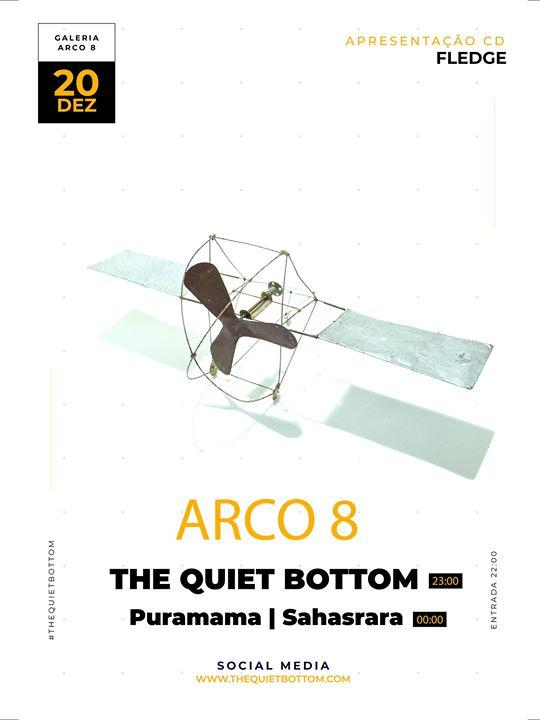 The Quiet Bottom apresentam Fledge ao vivo no Arco 8