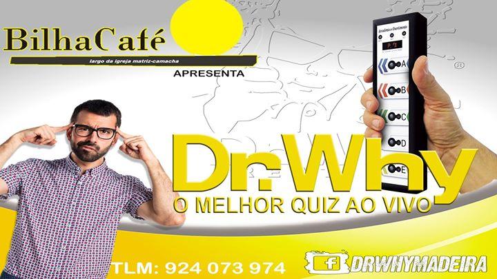 Dr.Why Madeira Live Quiz @Bilha Café