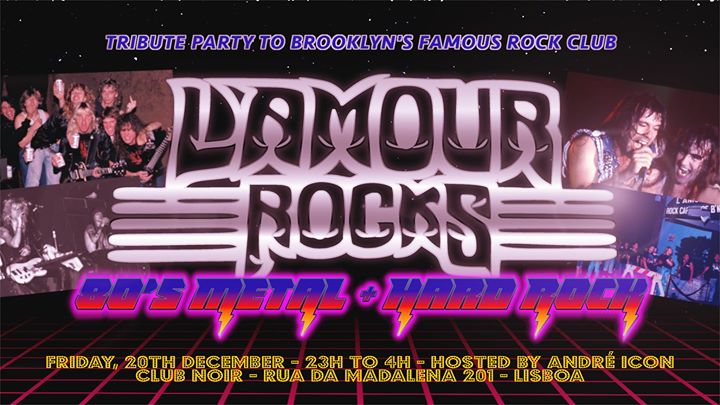 L'Amour Rocks - 80's Rock + Hard Rock