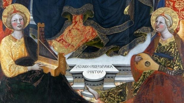 """Visita à exposição """"Alvaro Pirez d'Évora"""""""