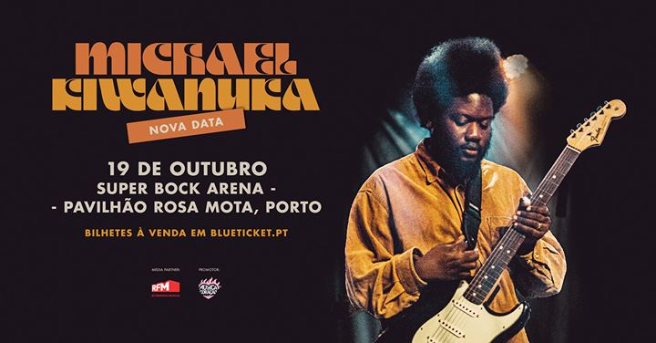 Michael Kiwanuka | Super Bock Arena - Pavilhão Rosa Mota