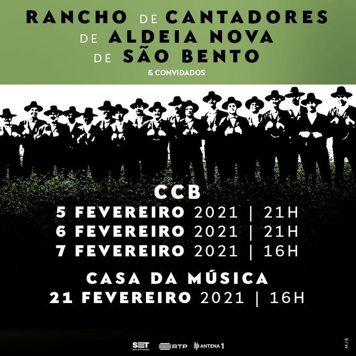 ADIADO ... Rancho de Cantadores de Aldeia Nova de São Bento e Convidados