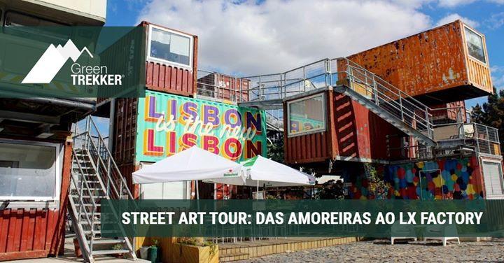 Street Art Tour: das Amoreiras ao Lx Factory