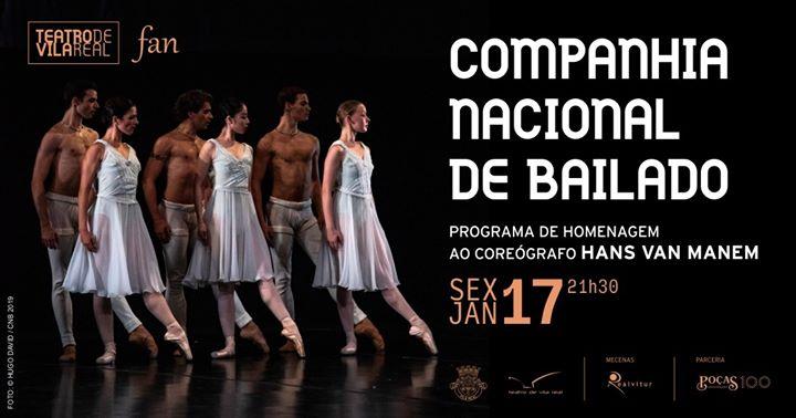 Companhia Nacional de Bailado no Teatro de Vila Real