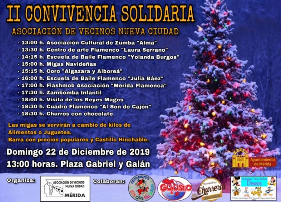 II Convivencia Solidaria de Nueva Ciudad