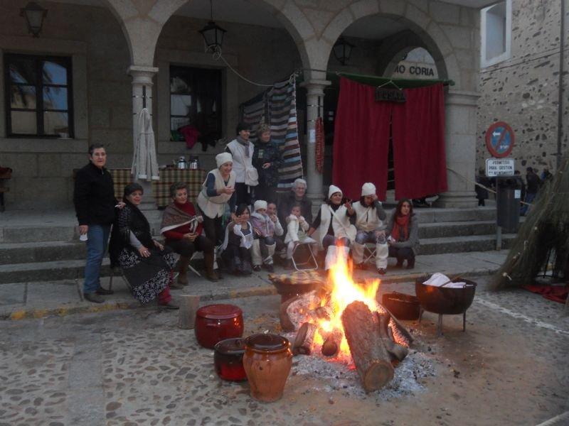 Belén Viviente en el Casco Histórico de Coria