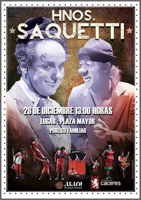Espectáculo «Hermanos Saquetti»