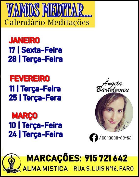 Meditaçao Dia 25 Fevereiro com Angela Bartolomeu