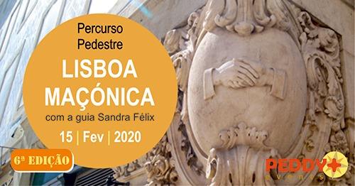 Percurso Pedestre 'Lisboa Maçónica' (6ª Edição)