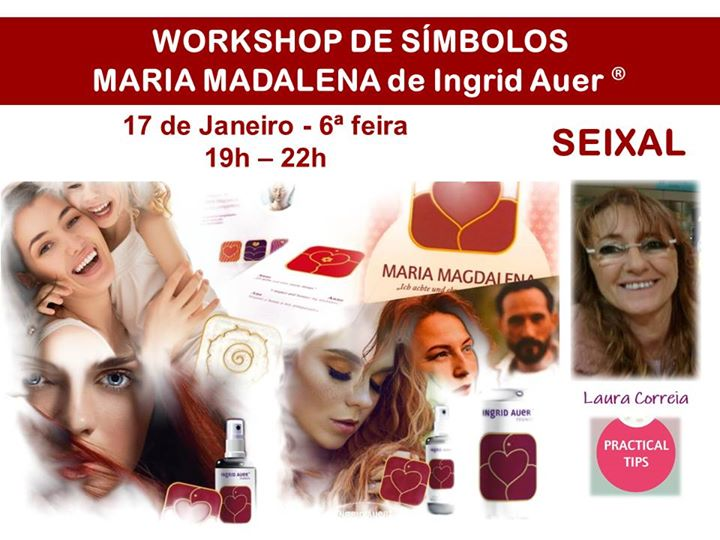 Seixal   Workshop Símbolos Maria Madalena de Ingrid Auer®