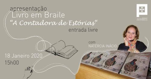 Apresentação de Livro em Braile 'A Contadora de Estórias'