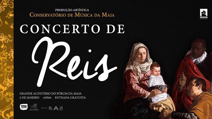 Concerto de Reis – Orquestra do Conservatório de Música da Maia