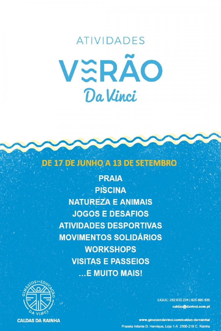 Actividades de Verão Da Vinci