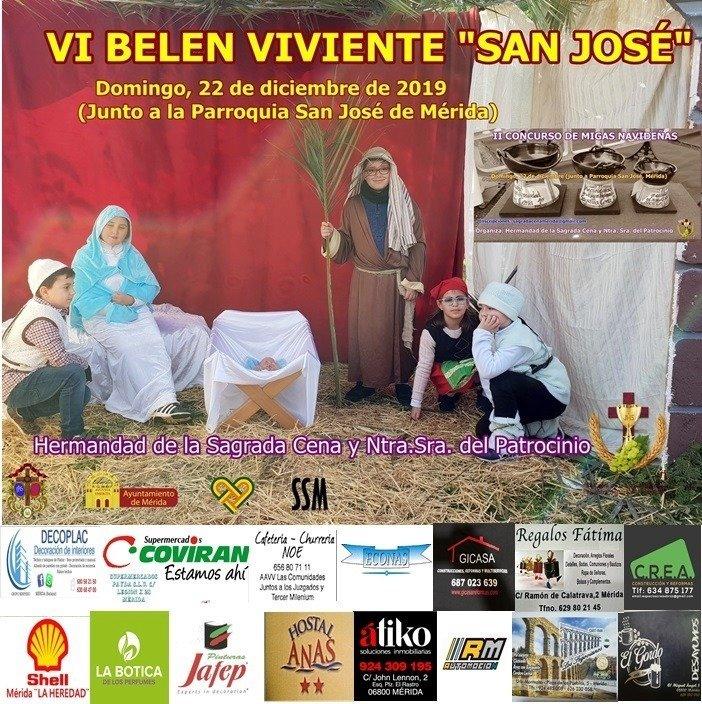 VI Belén Viviente 'San José'