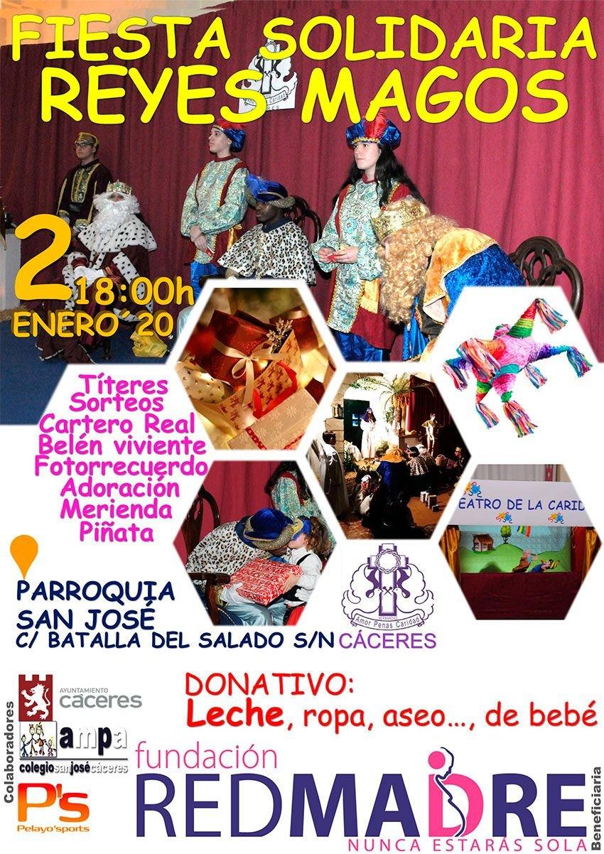 Fiesta Solidaria de Reyes Magos