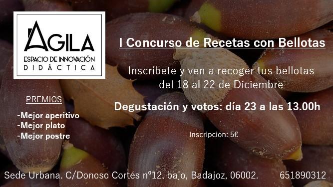I Concurso Recetas Bellotas